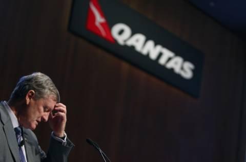 Η Qantas καθηλώνει τα αεροσκάφη της