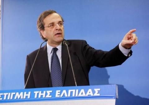 Σκληραίνει την κόντρα για το δημοψήφισμα ο Σαμαράς