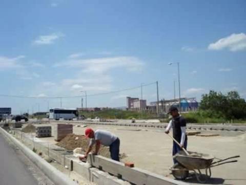 Έτοιμη στο τέλος του χρόνου η ανατολική είσοδος της Αλεξανδρούπολης