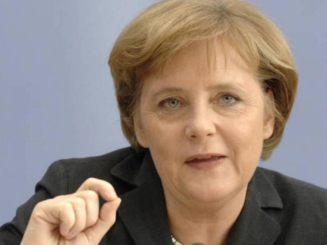 Για αλλαγή της Συνθήκης της Ε.Ε. πιέζει η Μέρκελ