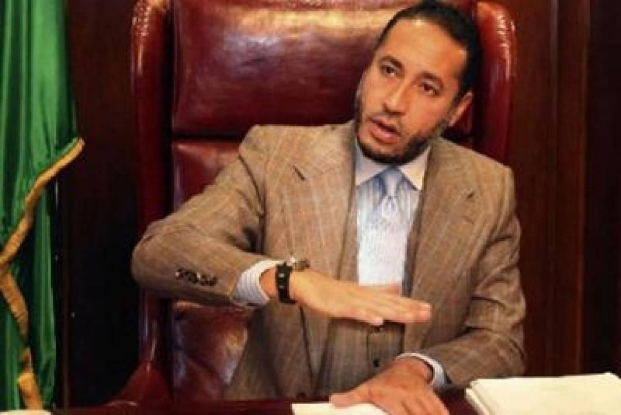 Παραμένει στο Νίγηρα ο Σααντί Καντάφι