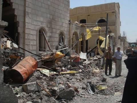 Συρία: Ρουκέτες σε κυβερνητικό κτήριο