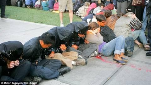 Απίστευτο περιστατικό αστυνομικής βίας