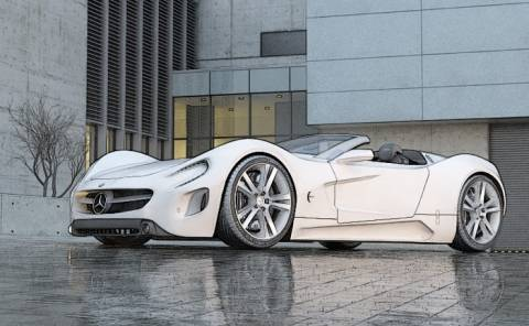The Mercedes-Benz Roadster Concept