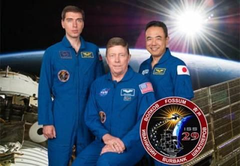 Επέστρεψαν από το ISS τρεις κοσμοναύτες