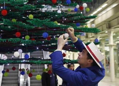 Χριστουγεννιάτικο δέντρο από Lego