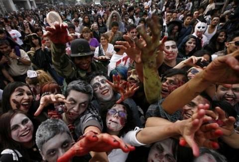 Χιλιάδες «ζόμπι» στην Πόλη του Μεξικού