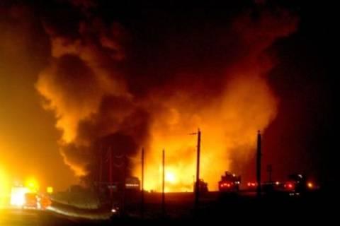 Νέα έκρηξη στον αγωγό αερίου στο Σινά