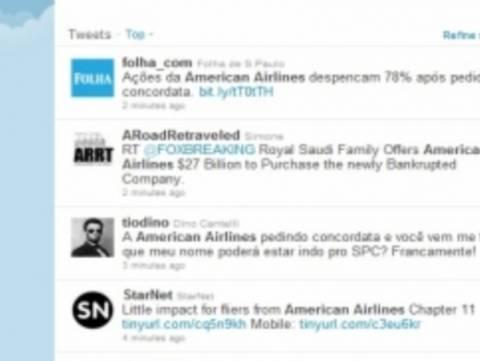 Πρώτο θέμα στο Twitter η χρεοκοπία γνωστής αεροπορικής εταιρείας