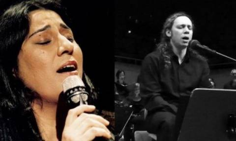 Μαρία Φαραντούρη και Αλκίνοος Ιωαννίδης τραγουδούν Γκάτσο