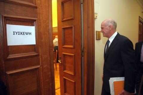 «Φορτωμένοι» πήγαν οι υπουργοί του ΠΑΣΟΚ στη σύσκεψη