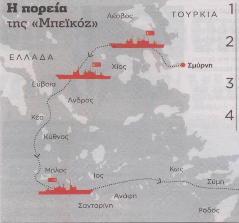 Οι Τούρκοι ετοιμάζονται για αρπαγή του Αιγαίου!