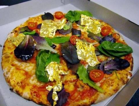 Χρυσή πίτσα 4.200 δολαρίων