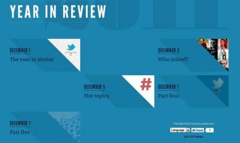 Τα δημοφιλέστερα «τιτιβίσματα» του twitter για το 2011