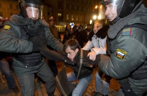 Συνεχίζονται οι διαδηλώσεις στη Ρωσία