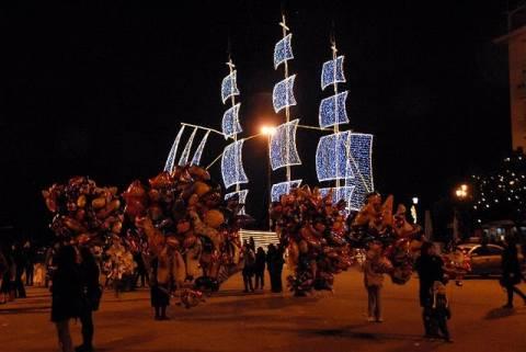 Το Χριστουγεννιάτικο Καράβι στον Πειραιά
