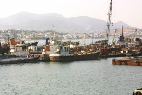 Στάσεις εργασίας για τους εργαζομένους στα ναυπηγεία