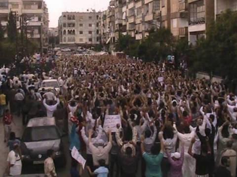Εννέα νεκροί από πυρά του καθεστώτος στην Συρία