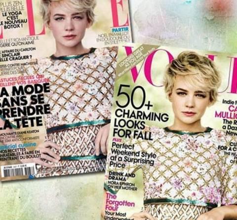 Ο κλέψας του κλέψαντος για τα περιοδικά Vogue και Elle