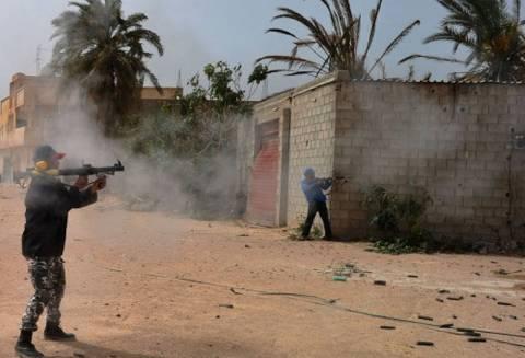 Μάχη στην πρωτεύουσα της Λιβύης