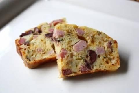 Πίτσα σε μορφή κέικ