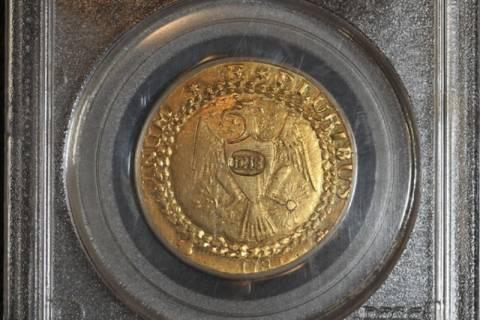 Χρυσό νόμισμα πωλήθηκε 7,4 εκατ. δολάρια!