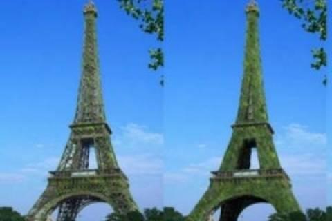 Ο πύργος του Άιφελ στα «πράσινα»!