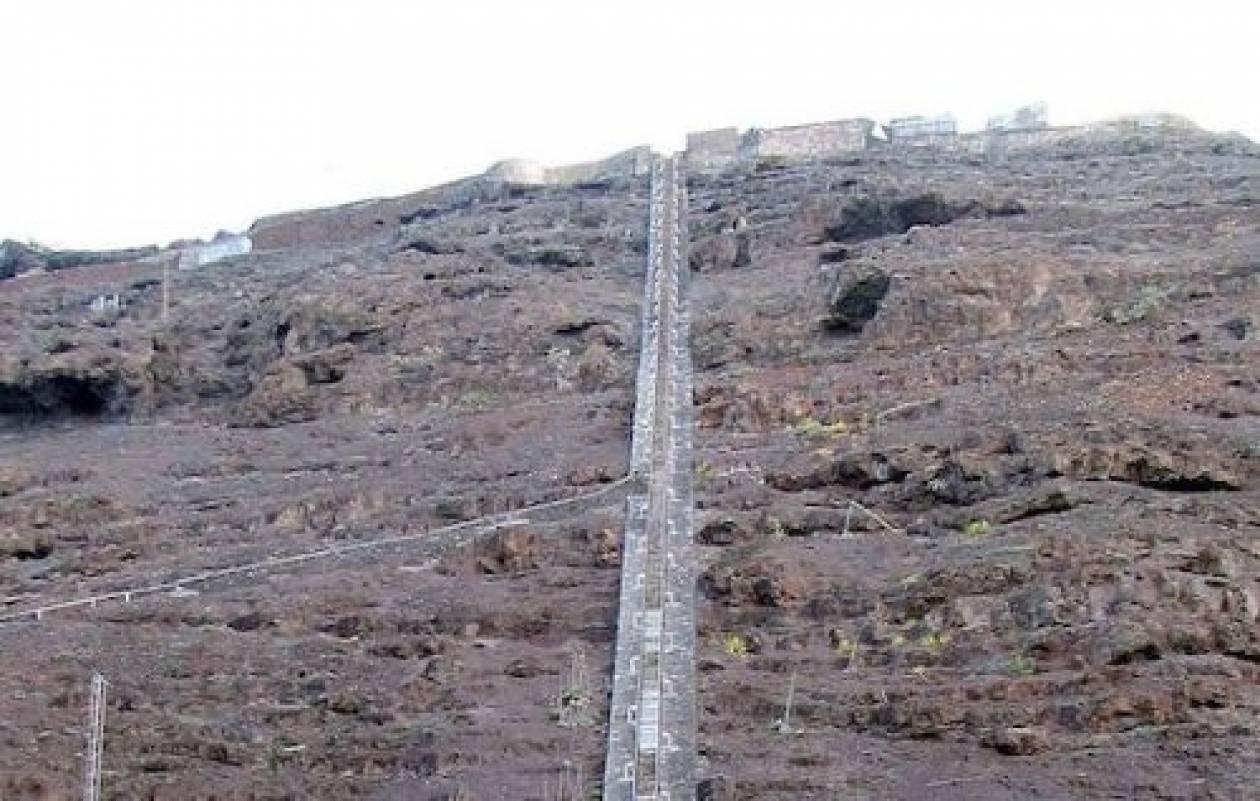 Η πιο απότομη σκάλα του κόσμου