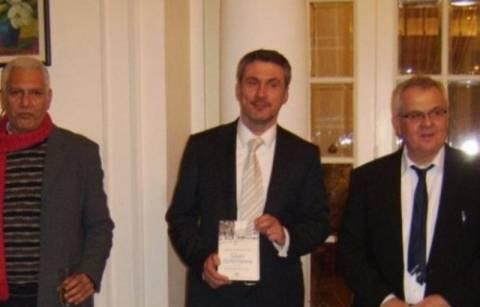 Διεθνές βραβείο Καβάφη στο Δ. Στεφανάκη