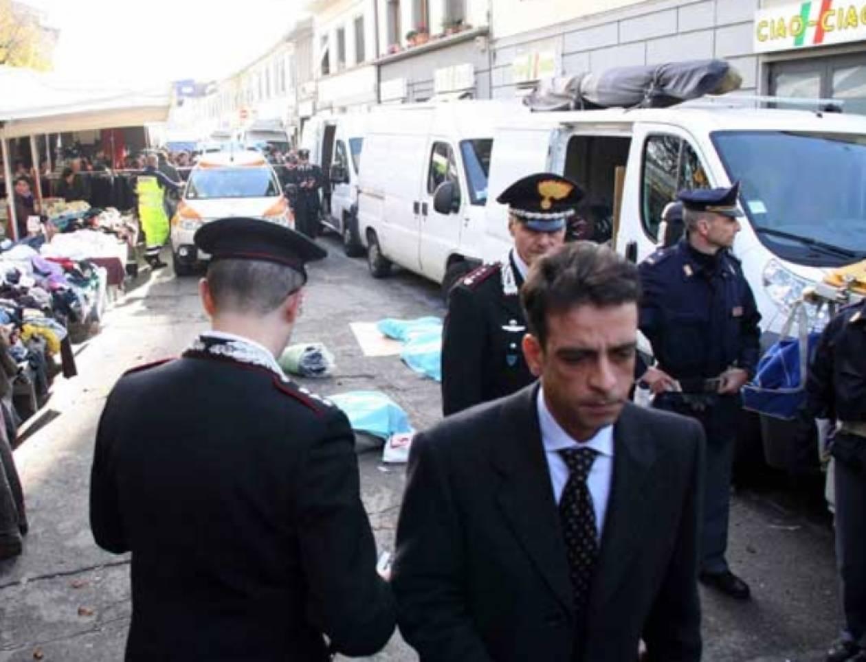 Ιταλός σκότωσε 2 Σενεγαλέζους μικροπωλητές