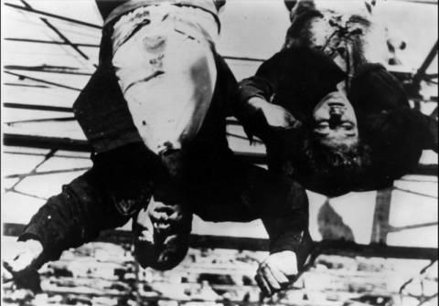 Σκληρές εικόνες σε ντοκιμαντέρ για το πτώμα του Μουσολίνι