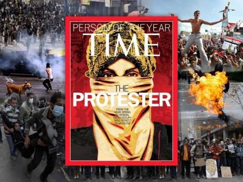Ο ανώνυμος διαδηλωτής και οι πρωταγωνιστές της πλατείας
