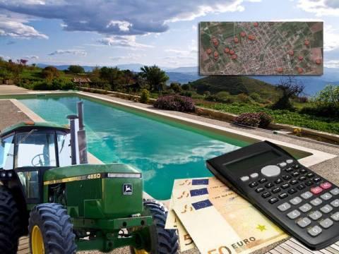 Αγρότες με εισόδημα 132 ευρώ και πισίνες!