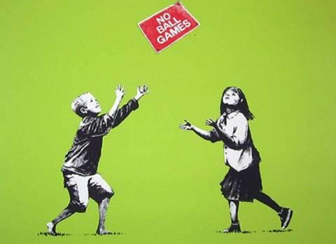 Κλέψε έναν Banksy και στον χαρίζουμε…
