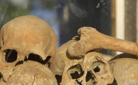 Μακάβριο εύρημα σε τάφο στην Κρήτη