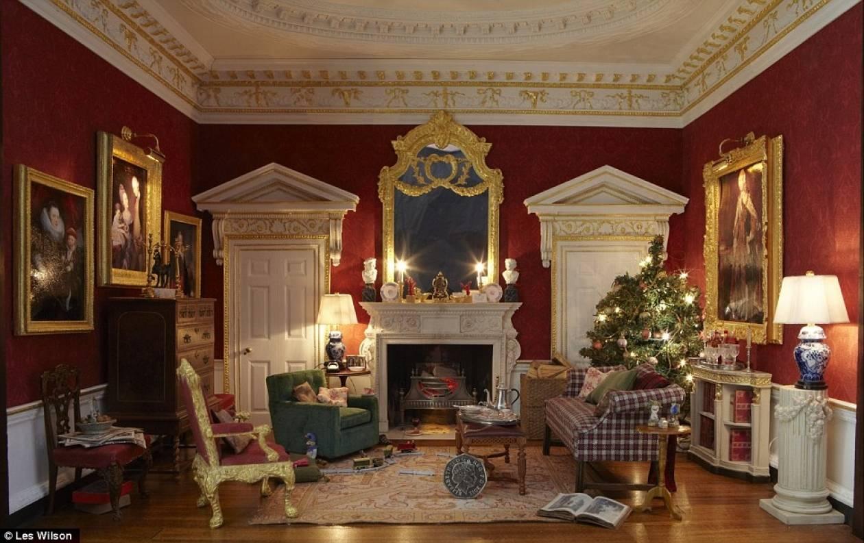 Ένα Χριστουγεννιάτικο…σπίτι