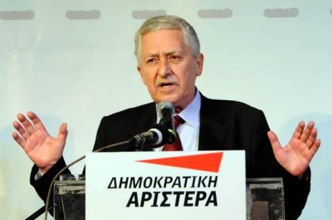 Φ. Κουβέλης: Ο Παπαδήμος δεν είναι πρωθυπουργός μακράς πνοής