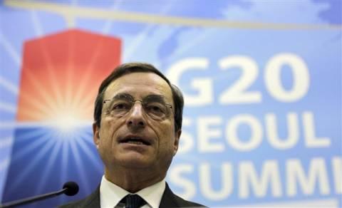 Ο Μάριο Ντράγκι προειδοποιεί για διάσπαση του ευρώ