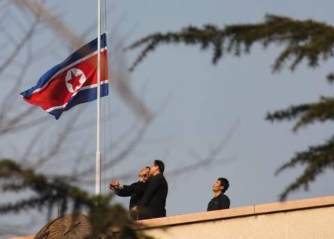 Η Β. Κορέα θρηνεί για τον ηγέτη της