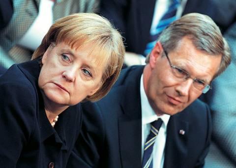 H Άνγκελα Μέρκελ κάλυψε πλήρως τον Γερμανό πρόεδρο