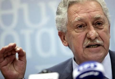 Φ. Κουβέλης: Τον Απρίλιο οι εκλογές