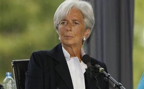 Τά χει βρει «σκούρα» με την Ελλάδα η Λαγκάρντ