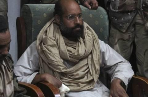 «Καλές» οι συνθήκες κράτησης του γιου του Καντάφι