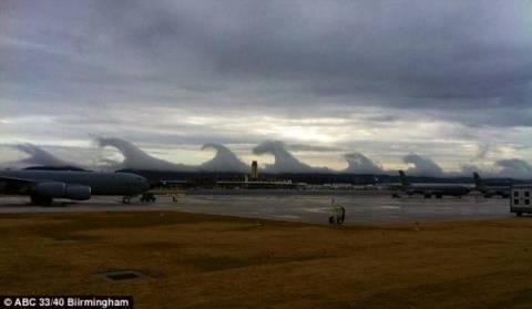Τα σύννεφα «μαγεύουν» την Αλαμπάμα!