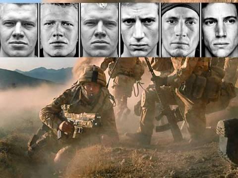 Η φρίκη του πολέμου στο βλέμμα τους
