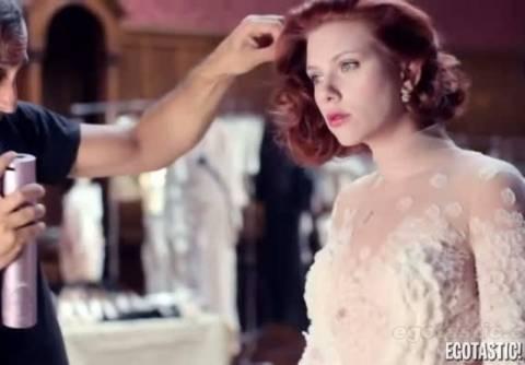 Η Scarlet Johansson φωτογραφήθηκε για το Vanity fair