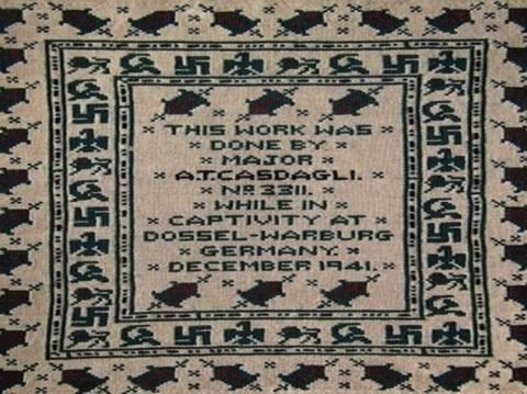 «Αποκρυπτογραφημένο» μήνυμα για τον Χίτλερ σε εργόχειρο!