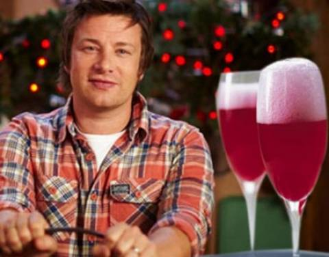 Γιορτινό κοκτέιλ με ρόδι από τον Jamie Oliver