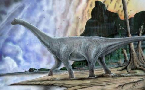Βρέθηκε απολιθωμένη ουρά δεινοσαύρου στην Ανταρκτική
