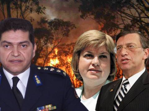 «Είδα Τούρκους να καίνε τη Χίο!»